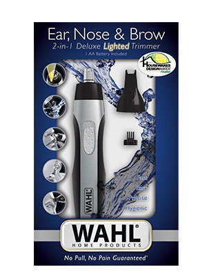 Wahl 5546-200 nose hair trimmer packaging