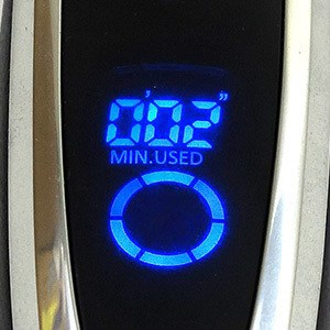 Panasonic Arc5 5-blade Electric Shaver LCD display screen