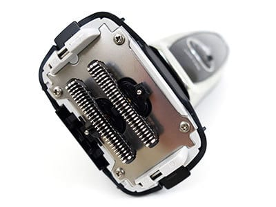 Panasonic Arc5 5-blade Electric shaver with foil guard removed