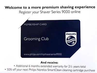 Philips Grooming Club Membership