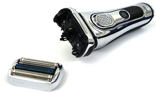 Braun Series 9 Electric Shaver with foil and cutter block removed