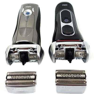 Braun series 7 vs Series 5 Electric Shaving heads compared