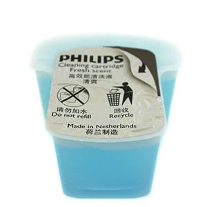 Philips Norelco 7300 electric shaver (7000 series) cleaning cartridge