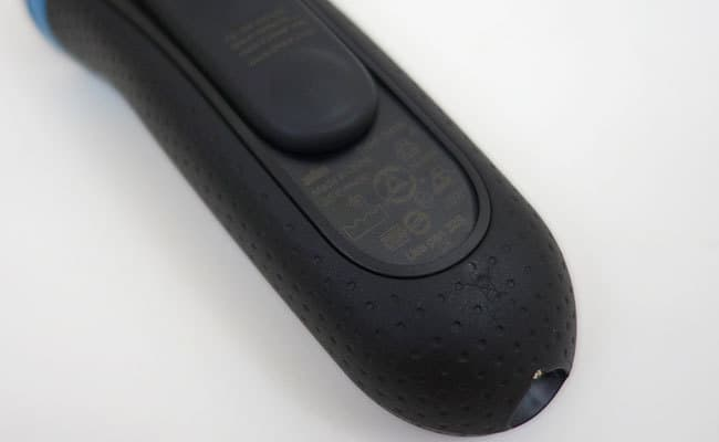 Braun Series 3 electric shaver specifications hiding underneath the pop-up trimmer