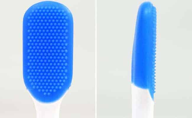 Philips Sonicare TongueCare+ tongue scraper brush head front and side photo