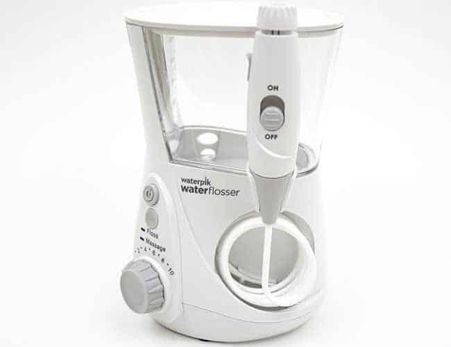 Waterpik Aquarius Professional Water Flosser front of unit