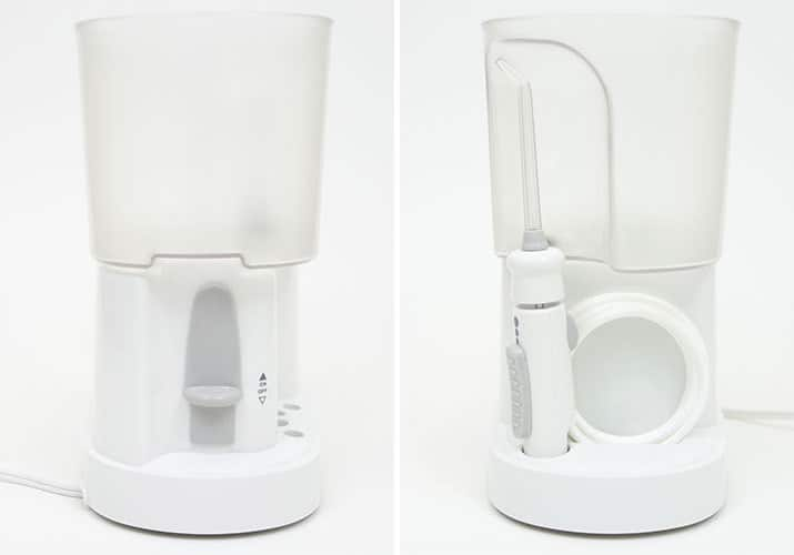 Waterpik Classic Professional left and right hand side photos