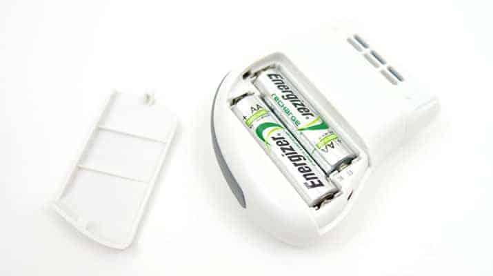 Emjoi Micro Pedi Nano Callus Remover with AA batteries installed