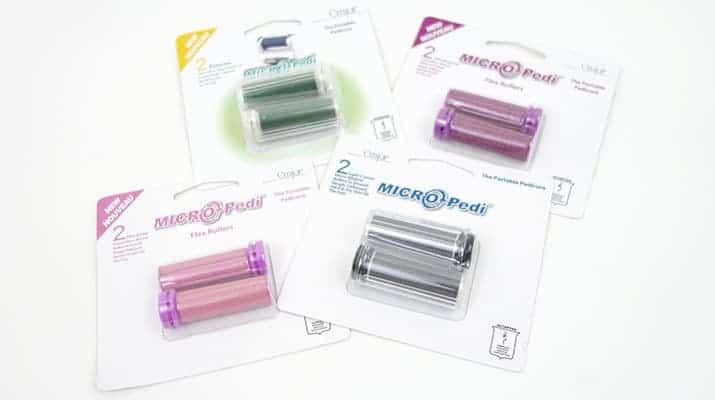Emjoi Micro Pedi Replacement roller refill packs