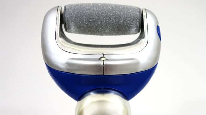 Ped Egg Powerball rechargeable callus remover pivoting head