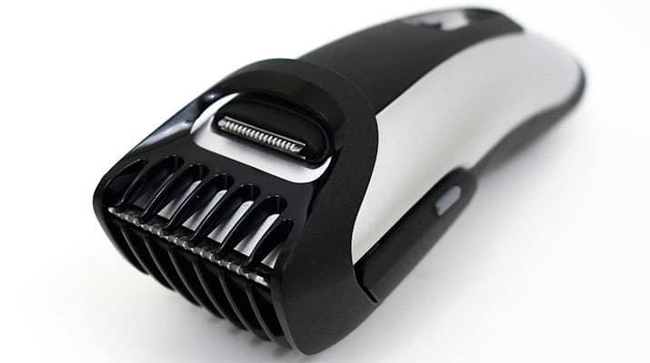 Braun BT5090 Beard Trimmer with precision trimmer comb attached