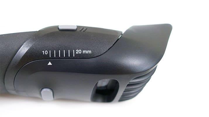 Braun BT5090 Beard Trimmer hair comb length selector