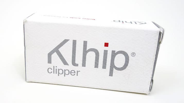 Khlip Ultimate Nail Clipper Packaging