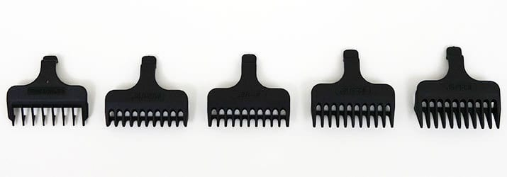 Wahl Lithium Ion Plus Beard Trimmer stubble combs