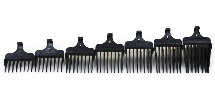 Wahl Lithium Ion Plus stainless steel beard trimmer long hair combs