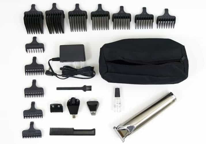 Wahl Lithium Ion beard trimmer and accessories included in box