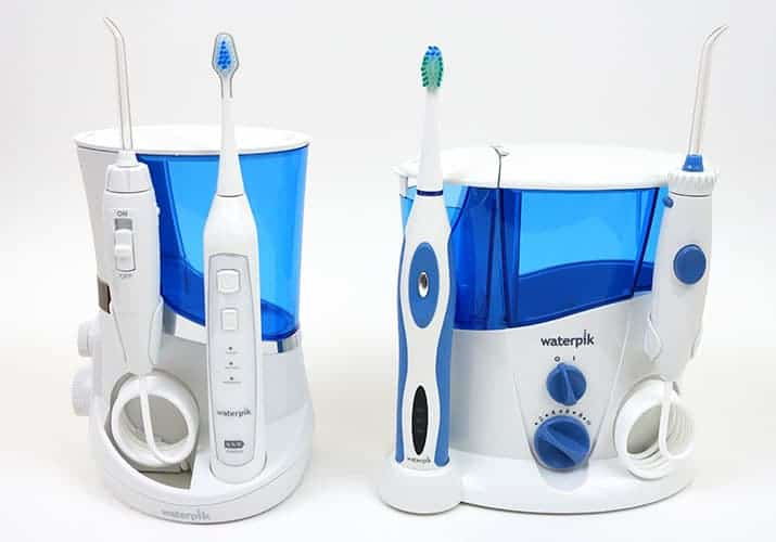 Waterpik Complete Care 5.0 WP-861W Vs. Waterpik Complete Care WP-900 side by side comparison