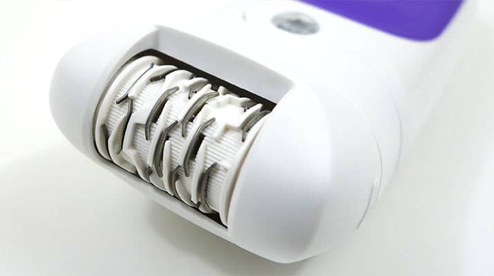 Braun Silk Epil 5 epilator wet and dry skin contact cap