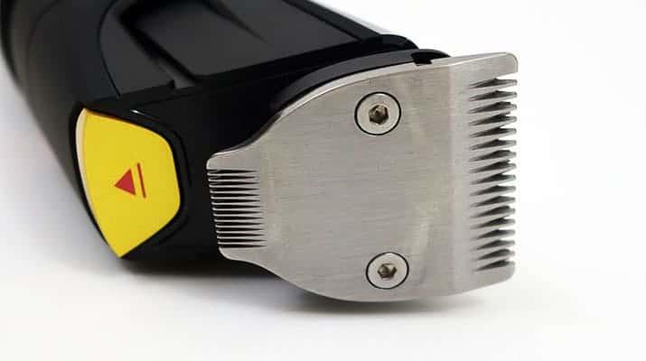 Philips Norelco Series 9000 9100 Beard Trimmer underside of trimmer head