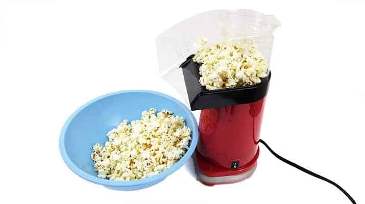 Cuisinart EasyPop Hot Air Popcorn Maker CPM-100 being tested