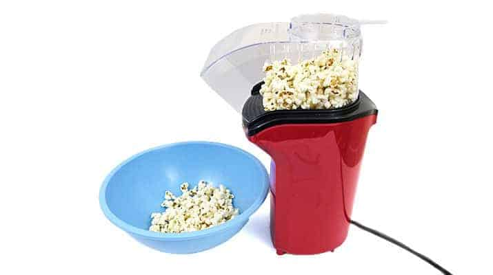Hamilton Beach Hot Air Popcorn Popper 73400 being tested