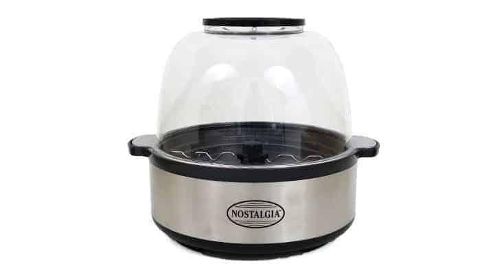 Nostalgia Stainless Steel Stir Pop popcorn maker