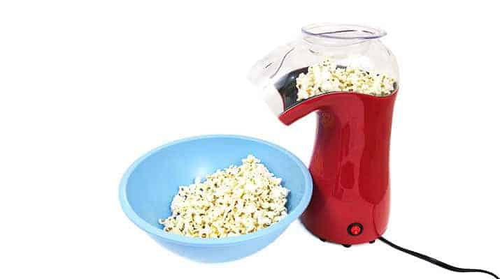 West Bend Air Crazy popcorn Popper 82416 being tested