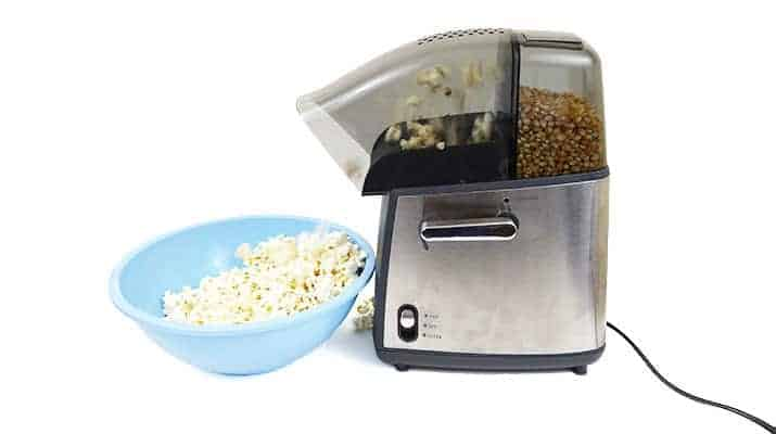 West Bend Hot Air Popcorn Popper 82700 being tested