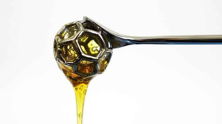 Alessi Acacia Mirror Polished honey dipper