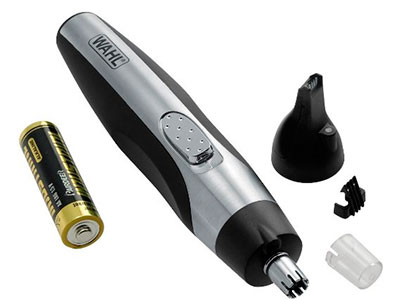 Wahl 5546-200 nose hair trimmer attachments included in the box