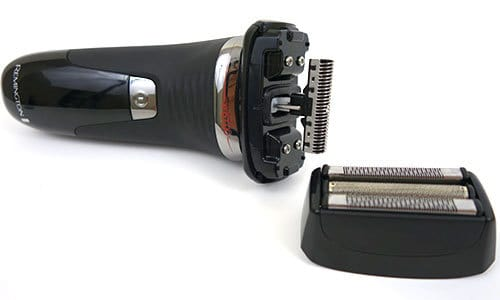 Remington Smart Edge Hyper Series Electric shaver with shaving head removed from body
