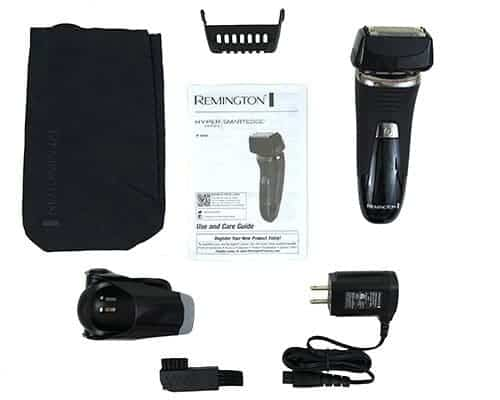 Remington Smart Edge Pro Electric Shaver and Accessories