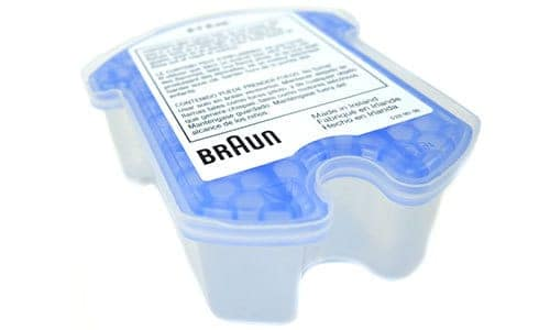 Braun Series 5 5090cc Electric Shaver Cleaning Fluid Cassette for Cleaning Station