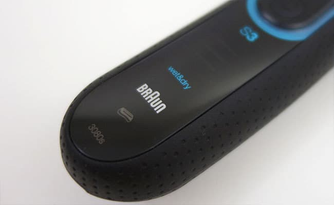 Braun Series 3 Electric Shaver indicator panel