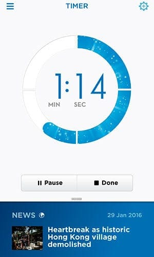 Oral-B Pro 5000 Electric toothbrush companion app brushing timer
