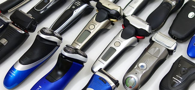Choosing which electric shavers to test