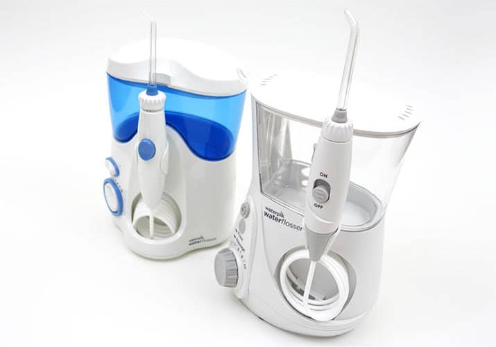 Waterpik Aquarius Professional vs. Ultra side by side comparison
