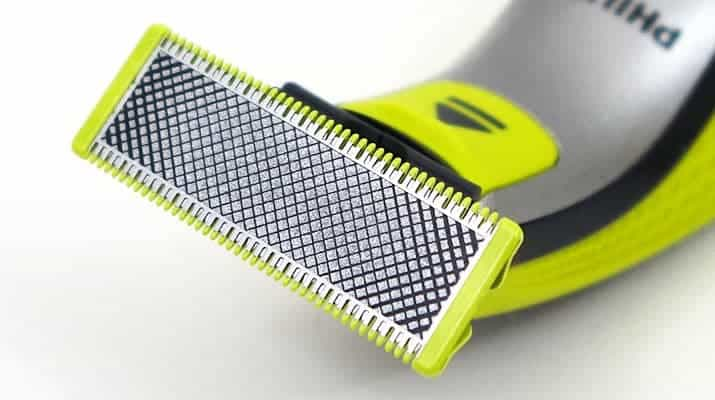 Philips Norelco OneBlade blade close up