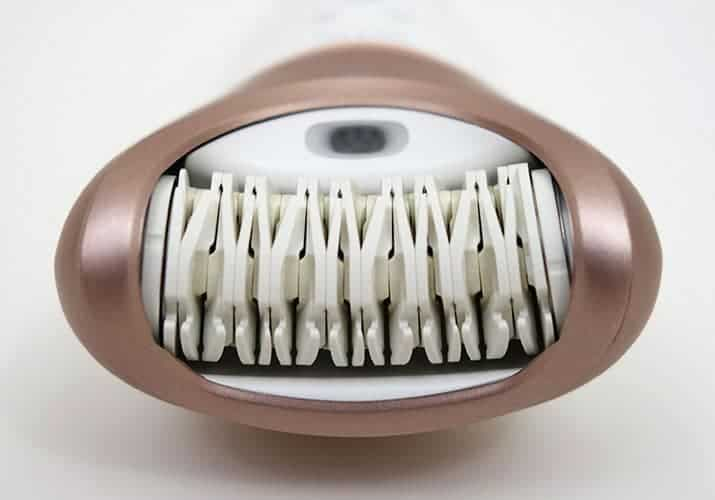 Philips Satinelle Prestige Epilator head close up