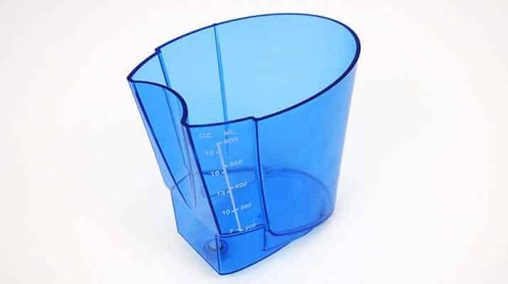 Waterpik Complete Care 5.0 water flosser reservoir container