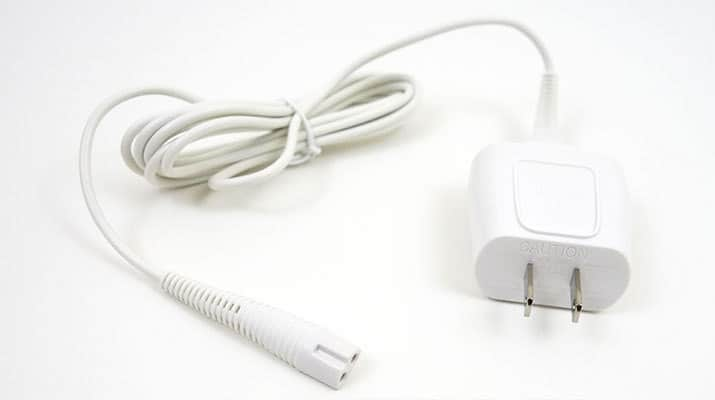 Braun Silk Epil 5 epilator adapter and charging cord
