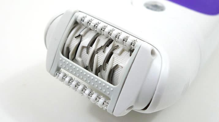 Braun Silk Epil 5 epilator wet and dry massage cap