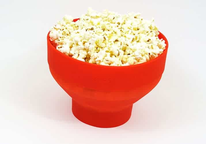Lekue Silicone Microwave popcorn maker