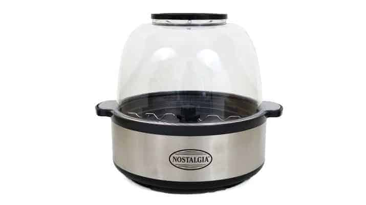 Nostalgia Stainless Steel Stir Pop popcorn maker