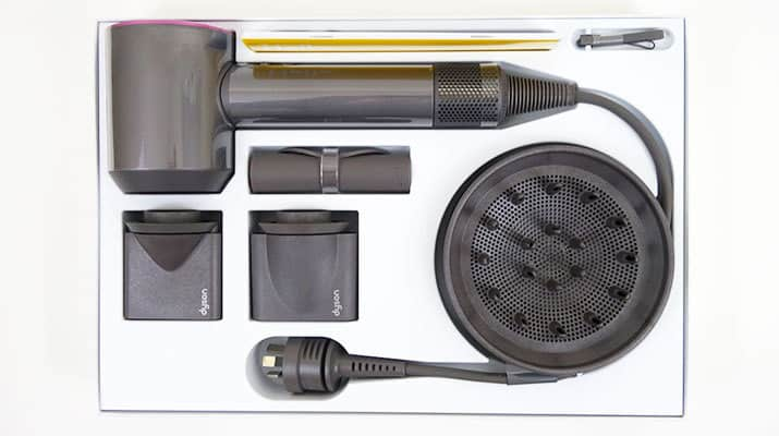 Dyson Supersonic Hair Dryer in box
