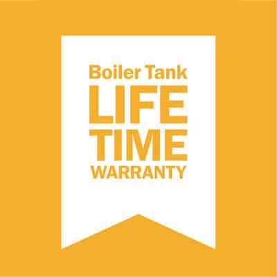 Reliable boiler tank lifetime warranty