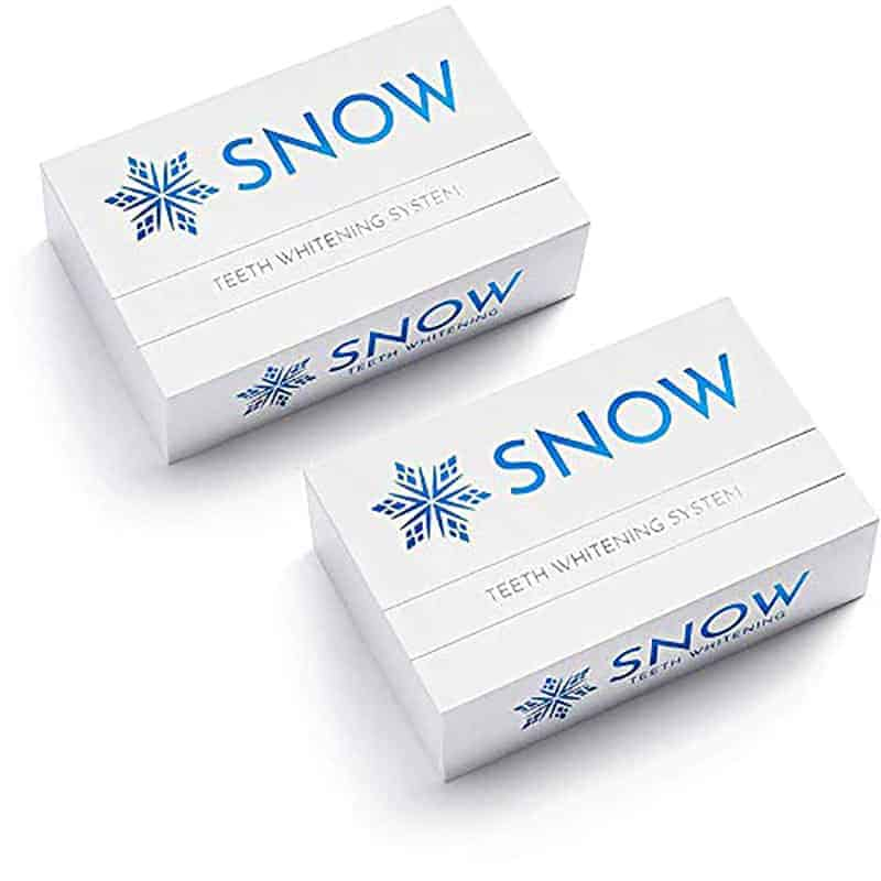 Snow Teeth Whitening  Kit Box Size