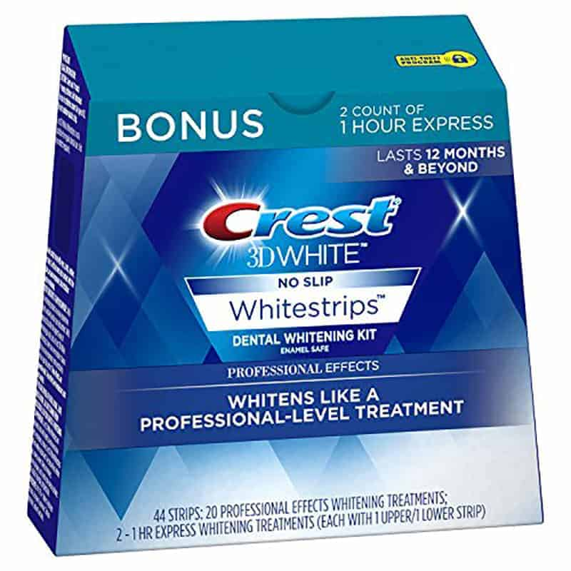 Crest Whitestrips Professional Effects Review